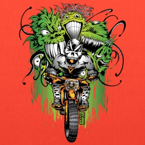 Motocross Ghouls T-Shirts - Tote Bag