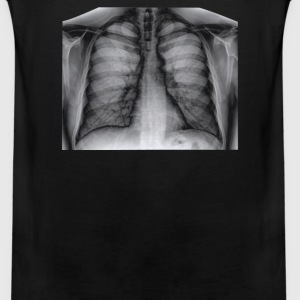 X-Ray Lungs chest graph - Men's Premium Tank