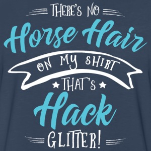 Glitter Hack T-Shirts - Men's Premium Long Sleeve T-Shirt