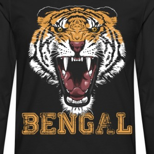 Bengal Tiger T-shirt - Men's Premium Long Sleeve T-Shirt