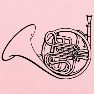 French horn - Kids' Hoodie