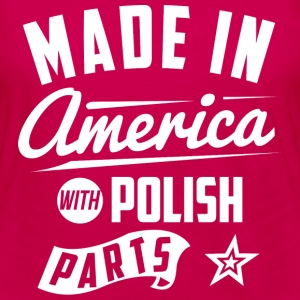 American Polish T-Shirts - Women's Premium Long Sleeve T-Shirt