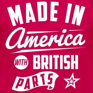 American British T-Shirts - Women's Premium Long Sleeve T-Shirt
