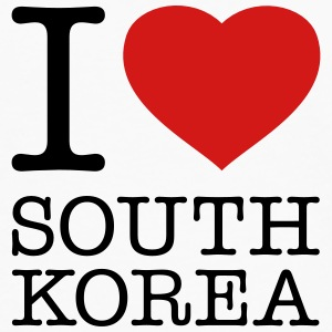 I LOVE SOUTH KOREA - Men's Premium Long Sleeve T-Shirt