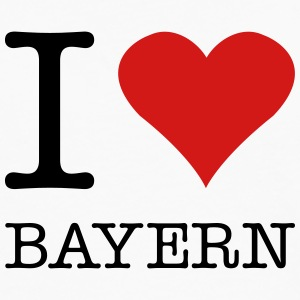 I LOVE BAYERN - Men's Premium Long Sleeve T-Shirt