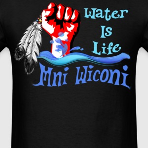 Water is Life - Mni Wiconi - Men's T-Shirt