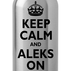 Keep Calm & ALEKS T-Shirts - Water Bottle