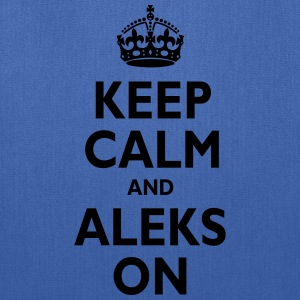 Keep Calm & ALEKS T-Shirts - Tote Bag