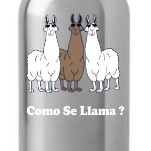 Como Se Llama? Funny Spanish What Is Your Name T-Shirts - Water Bottle