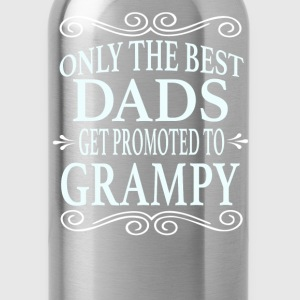 Only the best Dads Get Promoted to Grampy - Water Bottle