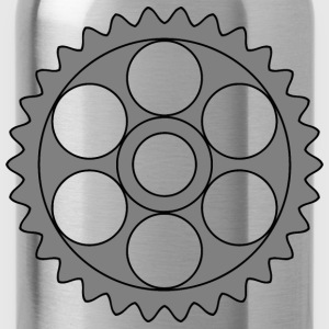 30tooth gear with circular holes - Water Bottle