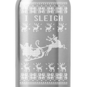 I Sleigh Long Sleeve Shirts - Water Bottle