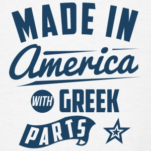 American Greek Baby Bodysuits - Men's T-Shirt