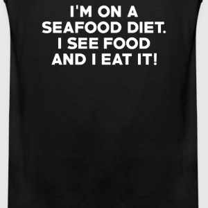 I'M ON A SEAFOOD DIET - Men's Premium Tank