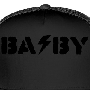 hard rock baby Baby Bodysuits - Trucker Cap