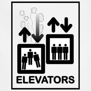 Elevator Sign - Adjustable Apron