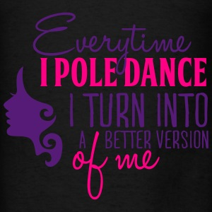 better version of me with pole dance Bags & backpacks - Men's T-Shirt