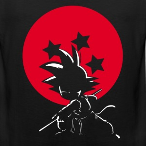 Red Ball Silhouette Goku - Men's Premium Tank