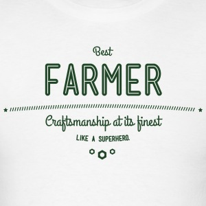 best farmer - craftsmanship at its finest Hoodies - Men's T-Shirt