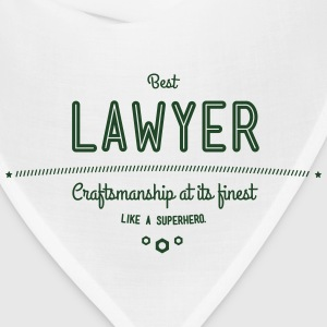 best lawyer - craftsmanship at its finest Baby & Toddler Shirts - Bandana