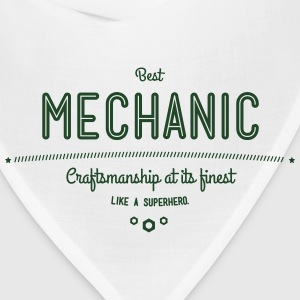 best mechanic - craftsmanship at its finest Baby & Toddler Shirts - Bandana