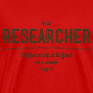 best researcher - craftsmanship at its finest Tanks - Men's Premium T-Shirt