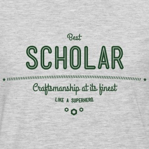 best scholar - craftsmanship at its finest Hoodies - Men's Premium Long Sleeve T-Shirt