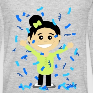 Confetti Girl - Men's Premium Long Sleeve T-Shirt