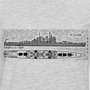 Helena Battleship - Men's Premium Long Sleeve T-Shirt
