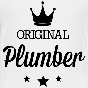 Original plumber Kids' Shirts - Toddler Premium T-Shirt