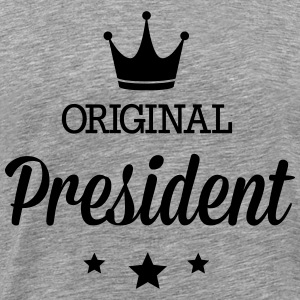 Original president Long Sleeve Shirts - Men's Premium T-Shirt