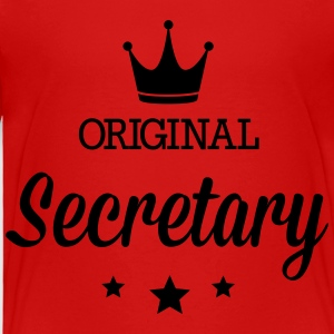 Original secretary Kids' Shirts - Toddler Premium T-Shirt