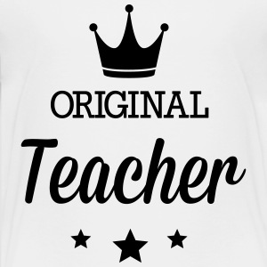Original teacher Kids' Shirts - Toddler Premium T-Shirt