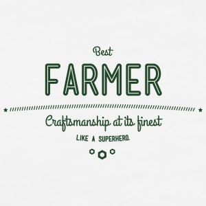 best farmer - craftsmanship at its finest Accessories - Men's Premium T-Shirt