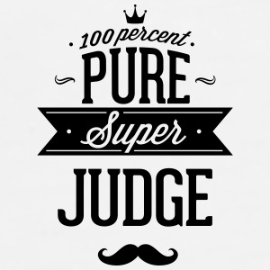 100 percent pure super judge Phone & Tablet Cases - Men's Premium T-Shirt