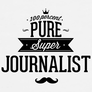 100 percent pure super journalist Mugs & Drinkware - Men's Premium T-Shirt