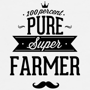100 percent pure super farmer Mugs & Drinkware - Men's Premium T-Shirt