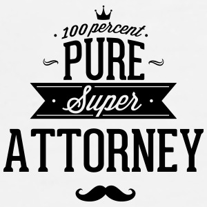 100 percent pure super attorney Phone & Tablet Cases - Men's Premium T-Shirt