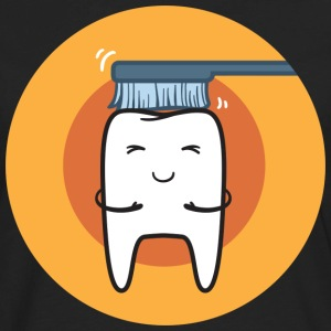 Tooth brush T-Shirts - Men's Premium Long Sleeve T-Shirt