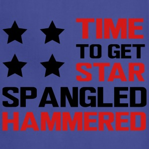 Time to get star spangled hammered T-Shirts - Adjustable Apron
