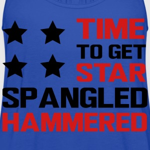 Time to get star spangled hammered T-Shirts - Women's Flowy Tank Top by Bella