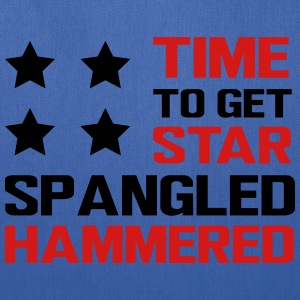 Time to get star spangled hammered T-Shirts - Tote Bag