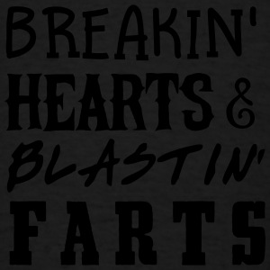 Breakin' Hearts & Blastin' Farts Baby Bodysuits - Men's T-Shirt
