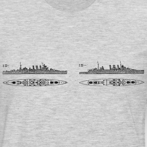 County Battleship - Men's Premium Long Sleeve T-Shirt