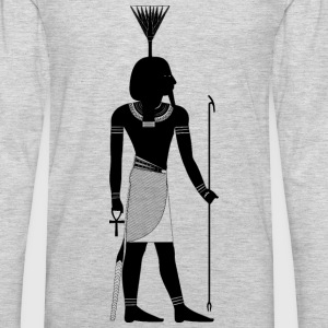 Egyptian God Nefertum - Men's Premium Long Sleeve T-Shirt