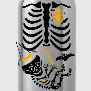 Skeleton Maternity Witch T-Shirts - Water Bottle