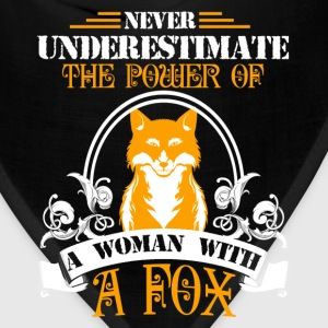 Woman With A Fox Shirt - Bandana