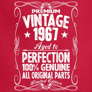 Premium Vintage 1967 Aged To Perfection 100% Genui T-Shirts - Adjustable Apron