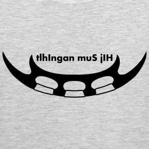 i hate klingon language T-Shirts - Men's Premium Tank