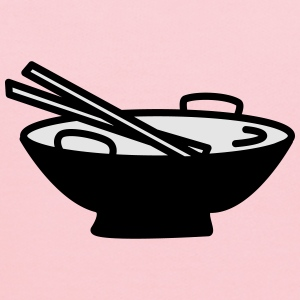 Bowl with Chopsticks - Kids' Hoodie